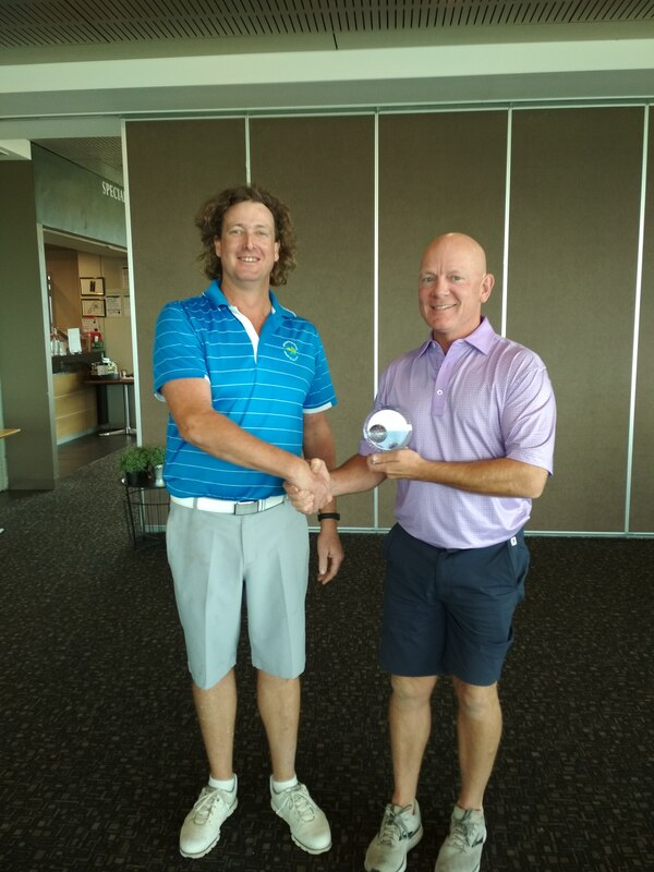 2017 GFGC Stableford Champion Jason Baines